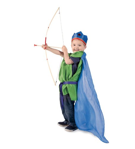 Set Bow Quiver Costume Arrow (Bow and Arrows Set)