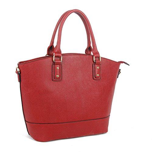 Shoulder Oversized Leather Handbag Bag Burgundy Designer Stylla Faux Shopper Tote wIdHHg