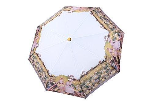 po-campo-rain-street-flower-art-umbrella-black