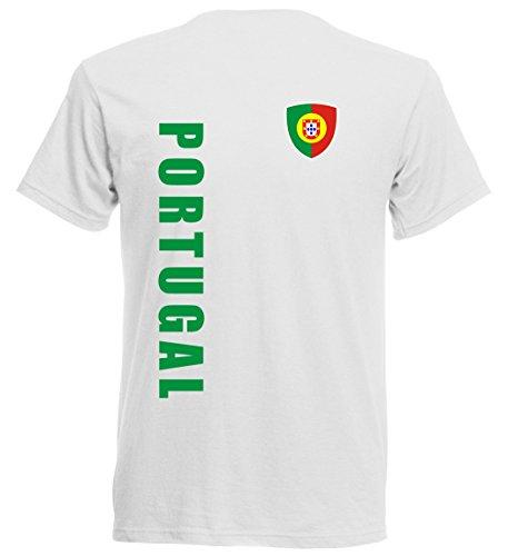 Portugal EM 2016 T-Shirt Trikot - S M L XL XXL - weiss 10