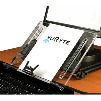(VUR18KB - Ergonomic Document Holder, 18x11, Clear)