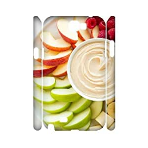 Fruit World CUSTOM 3D Cell Phone Case for Samsung Galaxy Note 2 N7100 LMc-78027 at LaiMc