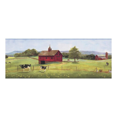 York Wallcoverings YC3397BD Welcome Home Good Pastures Border