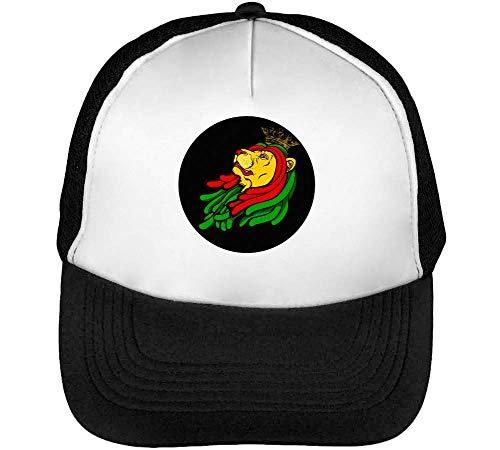 Gorras Blanco Of Beisbol Snapback Artwork Zion Negro Iron Lion King Hombre qawAa4SB