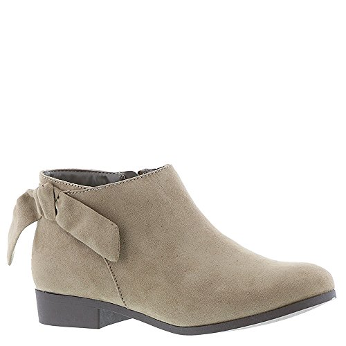 Nine West Kids Girl's Samarah (Little Kid/Big Kid) Taupe Microfiber 6 M US Big Kid M (Nine West Booties Suede)