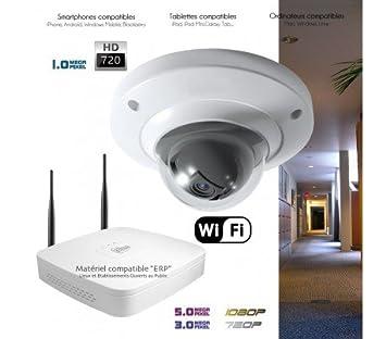 Dahua - Sistema WiFi de vídeo vigilancia con 1 Cámara interior - kit-360 - 1 x 363 - Disco duro de 2 TB: Amazon.es: Bricolaje y herramientas