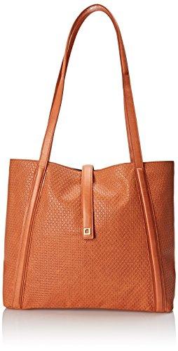 Lodis Woodlake Danya Slouch Tote Shoulder Bag, Terra Cotta, One - Slip Trc