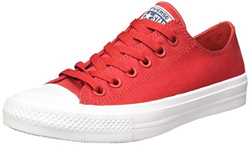 Galleon - Converse Unisex Chuck Taylor All Star II Ox Salsa Red White Navy  Sneaker 1935fc0ecf