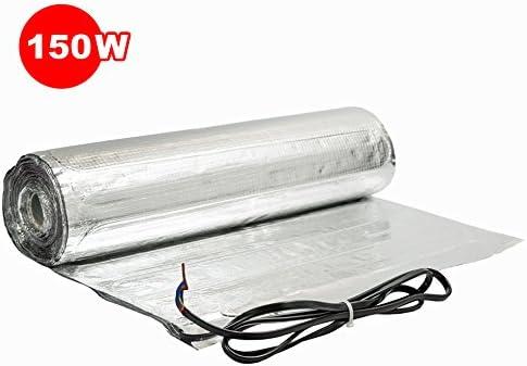 Komplett-Set elektrische Fu/ßbodenheizung f/ür Parkett//Laminat digitales Thermostat 1.5 m/² - 0.5 m x 3 m