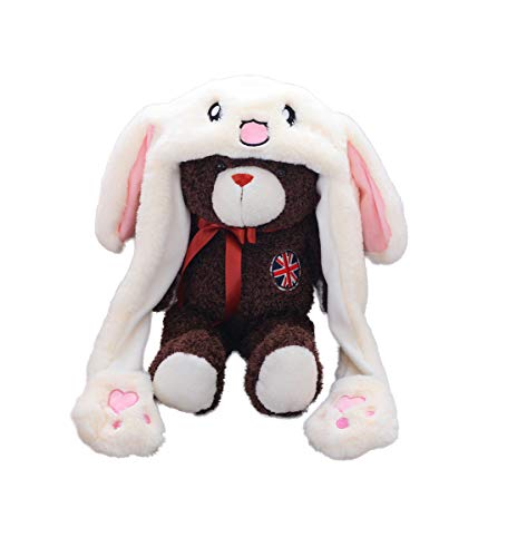 Creative Cute Ornaments Press The Paw's Airbag Bunny Ears Will Swing (Cute Rabbit) ()