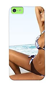 6b79e613308 Case Cover Hot Blonde Girl In Bikini Compatible With Iphone 5c Protective Case