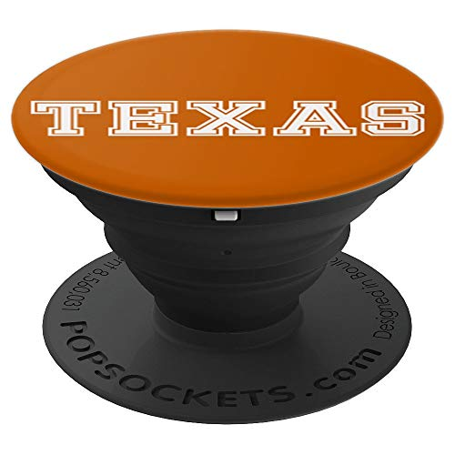 Lone Star State Pride Texas Austin Football Fan - PopSockets Grip and Stand for Phones and Tablets