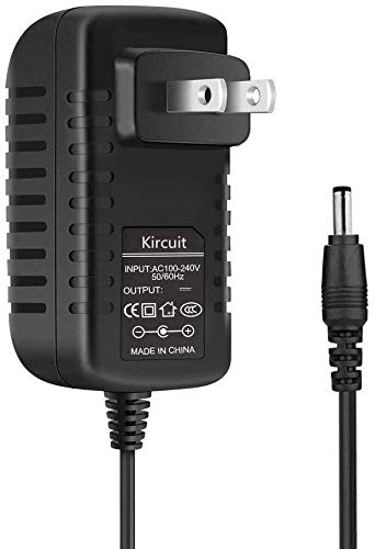 Kircuit AC Adapter for Korg SP-280 Digital Piano Keyboard Power Supply Cord Charger PSU