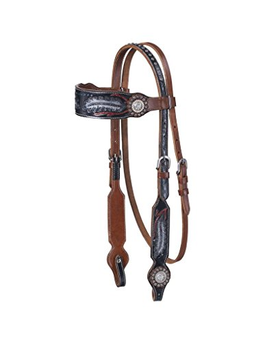 (Tough-1 Zane Browband Headstall with)