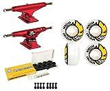 Independent Skateboard Trucks Red/Spitfire Bighead Wheels/Ceramic Bearings