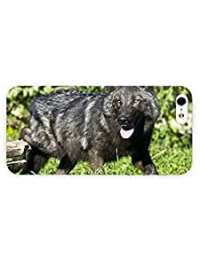 3d Full Wrap Case for iPhone 5/5s Animal Black Wolf76