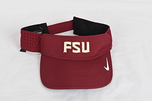 Sideline Nike Visor (Nike Florida State Seminoles FSU 2016 Sideline Apparel DF Vapor Visor)