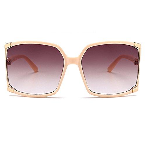 (Newest Design Women's sunglasses UV Protection Oversized Square Sunglasses+case)