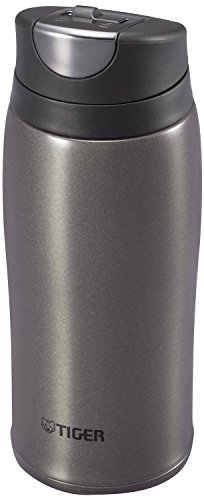 (Tiger Corporation MCB-H036-HG Stainless Steel Vacuum Insulated Travel Mug, 12 oz, Black )