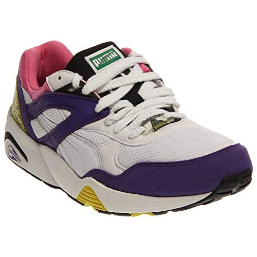 Puma Men's Trinomic R698 Fashion Sneakers Prism Violet/Fluo Pink 12 D(M) ()