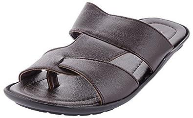 15ddaedcd Paragon Men's Leather Formal Slipper (10): Buy Online at Low Prices ...