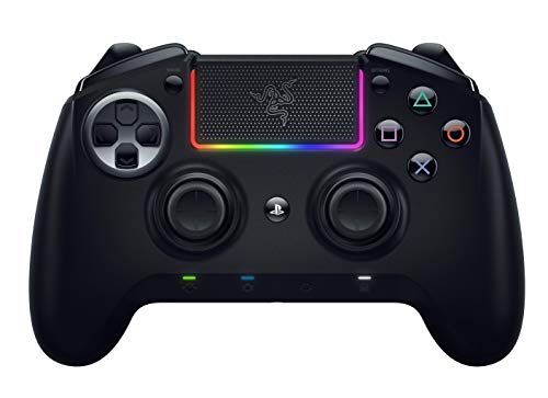 Razer Raiju Ultimate 2019Mando de juegos inalámbrico y con cable para PS4 y PC, Mando Gaming con Bluetooth y cable…