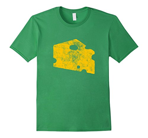 Mens Green Bay Classic Cheesehead Vintage Football T-Shirt Medium ()
