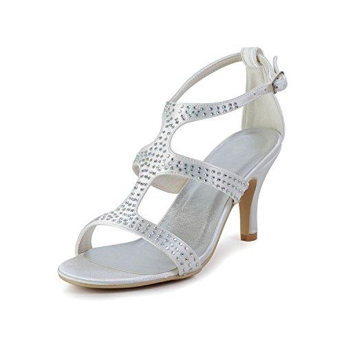 Minitoo , Damen Pumps White-6.5cm Heel