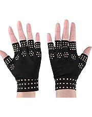 TMISHION compressiehandschoenen, artritis handschoenen, anti-slip drukhandschoenen, vingerbeschermende handschoenen, computertippen en dagelijkse ondersteuning voor handen voor vrouwen en mannen