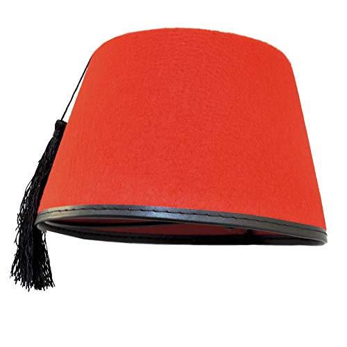 Novelty Giant Adult Red Dr. Who Turkish Shriner Fez Felt Costume Hat -
