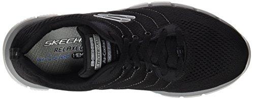 Chaussures Noir Grey Skechers Homme Black Multisport Outdoor 2 Flex 0 zAF0tA