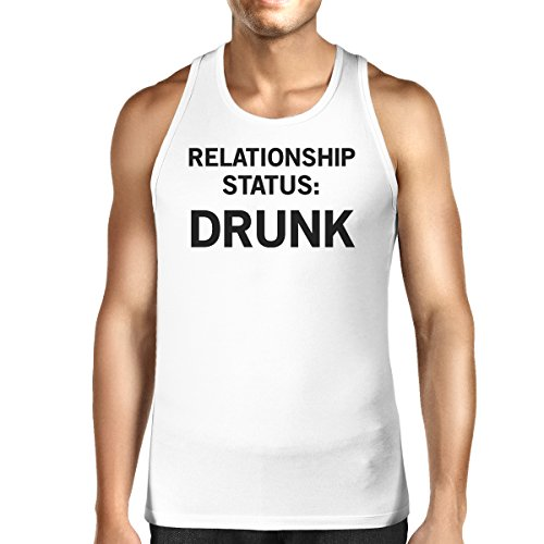 Unique White 365 Printing Status Taille Sans Manche Pull Homme Relationship Y1vYwzq
