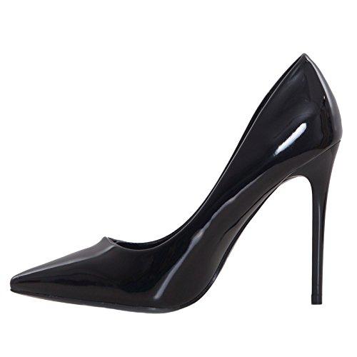 Toocool Toocool Femme Escarpins Pour Femme Noir Escarpins Noir Pour BqIqr0