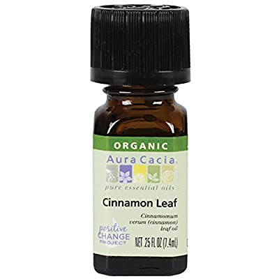 Aura Cacia Organic Essential Oil, Ylang Ylang, 0.25 Fluid Ounce by Aura Cacia