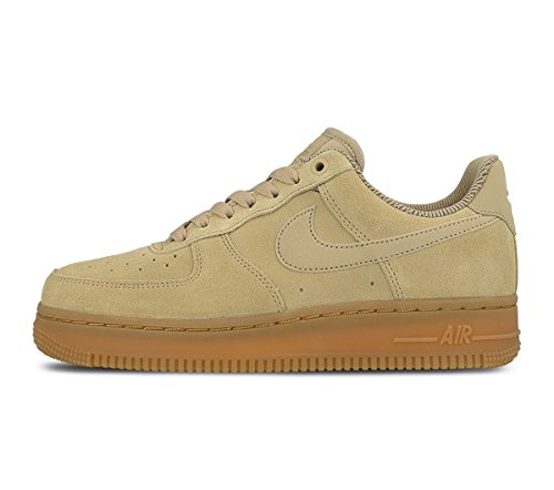NIKE Air Force 1 07 Womens Brown/Ivory AA0287-200 Mushroom / Mushroom dVNcS4ek