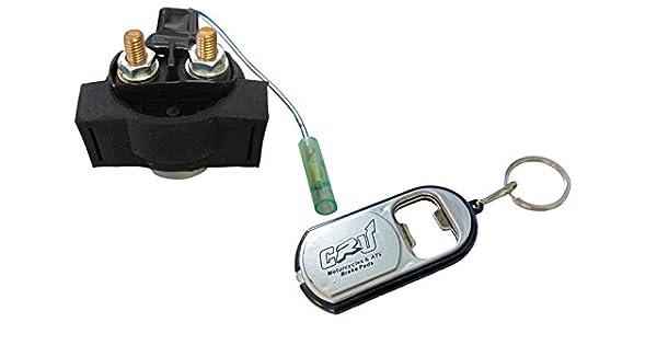 Rele de Arranque Starter Relay compatible con Yamaha FJ FZ FZR FZX TDM VMX-12 XV XVZ