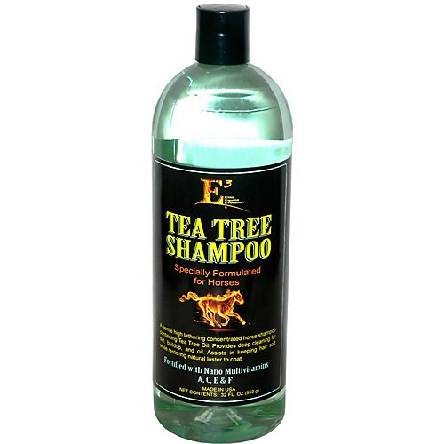 E3 Elite Grooming Products Tea Tree Shampoo for Pets 32 oz.