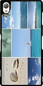 Funda para Sony Xperia Z3 - Escénico Collage Caribe by Christine aka stine1