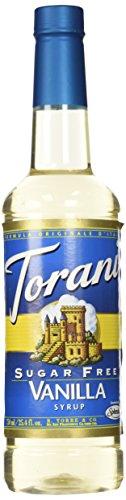 Organic French Vanilla Syrup - Torani Vanilla Syrup, Sugar Free, 25.4 Fl Oz