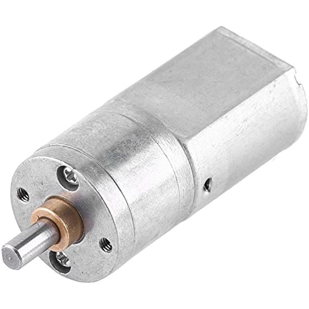 12V 600RPM Electric Gearbox DC Gear Motor Centric Output Shaft High Torque