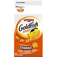 Pepperidge Farm Goldfish Cheddar Crackers, 60 oz. Box, 2 Count 30 oz. Cartons
