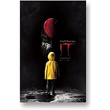IT Movie Poster - 11 x 17 Promo 2017 Stephen King Pennywise