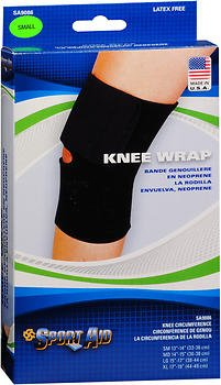 Sport Aid Knee Wrap Small - 1 ea., Pack of 4 by SportAid