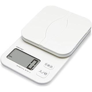 """DRETEC digital scale """"Pakatto"""" 2kg white KS-257WT"""