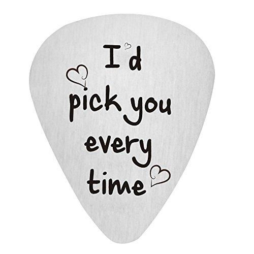 Paris Selection I'd Pick You Every Time Guitar Pick