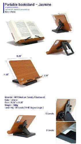 Wiztem Jasmine Cookbook Book Stand (Bookstand / Bookstands / Holder / Music)