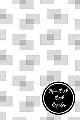 buy mini bank book register bank transaction register book online