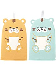 Minkissy 2 stuks babybadje, handpop, washandjes voor kinderen en peuters, wasspons