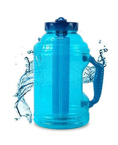 44a3e193bb Amazon.com: Cool Gear EZ-Frezee 80 FL Ounces Water Bottle (assorted  colors): Kitchen & Dining