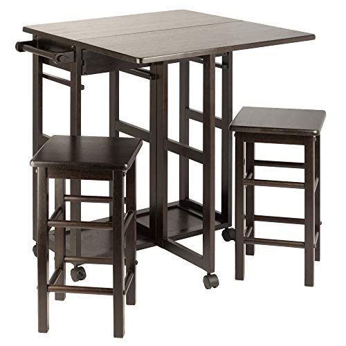 Winsome Wood 23330 Suzanne 3-PC Set Space Saver Kitchen, Smoke by Winsome Wood (Image #9)